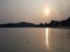 포항지진이 발생한지 열흘이 지난 25일, 다시 평온을 찾아가는 바닷가 풍경