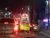 (포토뉴스)119 차량에 길을 터주는 포항시민들