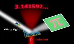 레이저를 비추면 정보가 드러나는  보안 디스플레이 개발