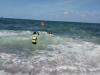포항해경, 풍랑주의보속 물놀이 표류객 2명 구조!