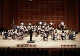 청하중학교 시골학생들이 접수한 대한민국관악경연대회