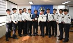 포항북부경찰서, 경북 베스트 교통경찰 1위