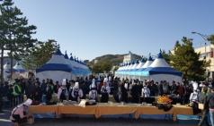 과메기의 본고장 구룡포에서 개최되는 '과메기 축제'