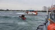 포항 송도해수욕장 앞 인근 해상에서 어선 좌초사고 발생
